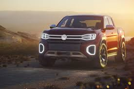 VW Unveils Atlas Tanoak Pickup Truck Concept For The U.S. Market ...