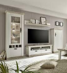 details zu imv florenz wohnwand 2 dekor in pinie weiß oslo pinie landhausstil wohnzimmer