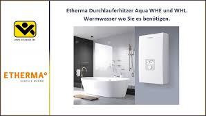 elektronische durchlauferhitzer whe und whl etherma iv