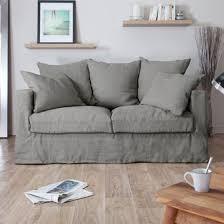 home spirit canapé canapé en froissé déhoussable assise plumtex home spirit