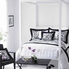 Black White Bedroom Ideas Photo