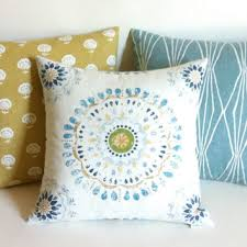 one aqua outdoor zipper pillow cover from pillomatic on etsy