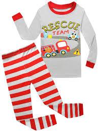 Kids Pajamas Hop Rescue Team Boys Cotton Pajamas Children Clothes ...