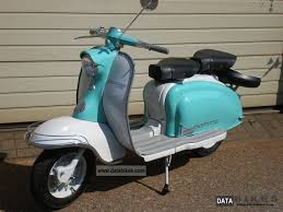 Vespa Lambretta LI 125 1963 1 A State Scooter Photo