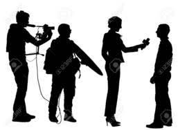 Download Silhouette News Vector Clipart Journalist
