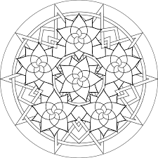 Free Printable Mandala Coloring Pages Adults