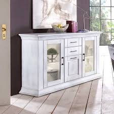 esszimmer sideboard alberton in weiß shabby chic