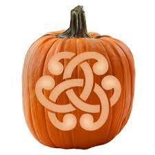 Walking Dead Pumpkin Stencils Free Printable by Celtic Knot Pumpkin Stencil Celtic Knots Stenciling And Pumpkin