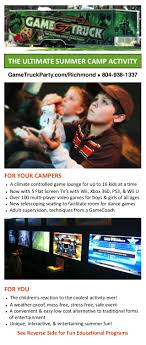 Bring The Excitement Of GameTruck To Your Summer Camp