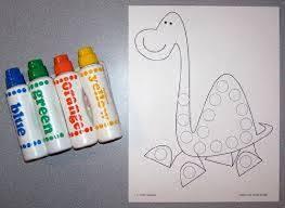 Dinosaur Art Activities For Preschool