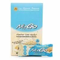 NuGo Carrot Cake Bar