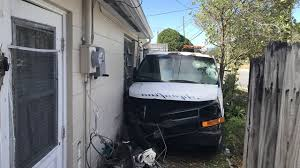 100 House Van Crashes Into Pasco House As Homeowner Was Making Coffee