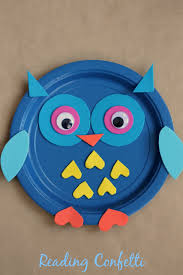 Fall Crafts With Owls For Kids Paper Plate