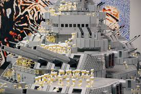 Lego Ship Sinking 3 by This Is The World U0027s Largest Lego Ship And It Has Over A Million