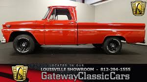 100 1966 Gmc Truck GMC 1000 Custom Pickup Louisville Showroom Stock 1547