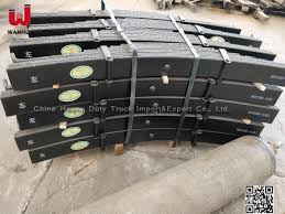China Trailer Spare Parts 16mm Thickness 90mm Width Trailer Leaf ...