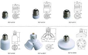 e11 to gu10 light bulb socket adapter with ce