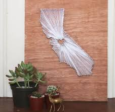 DIY String Art Woodworking Project For Kids