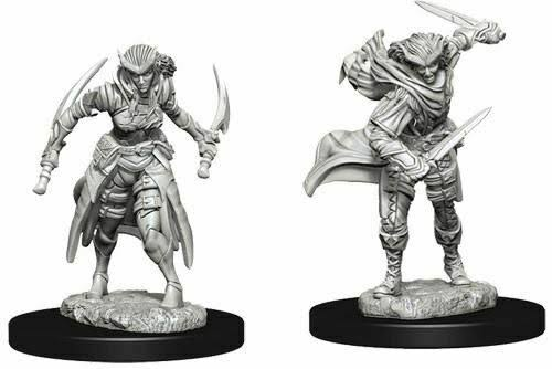 D&D Nolzur's Marvelous Miniatures Tiefling Rogue Female
