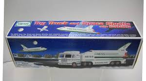 Amazon.com: Hess 1999 Toy Truck And Space Shuttle With Satellite ...