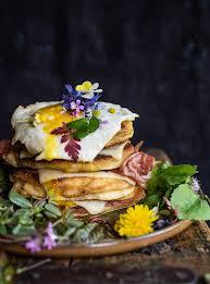 buttermilch pancakes mit tiroler bergkäse g u und