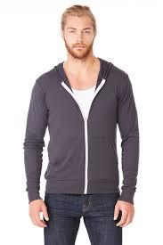 unisex triblend full zip lightweight hoodie bella canvas