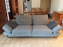 crozatier canapé canapé gris 3 places crozatier annonce meubles et décoration
