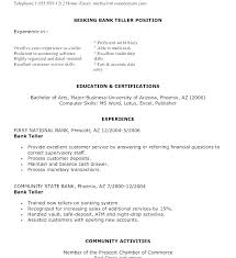Samples Of Resumes For Customer Service Representative Sample Resume Position