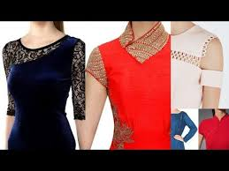 Stylish Neck Designs For Girls Tops Fashionable