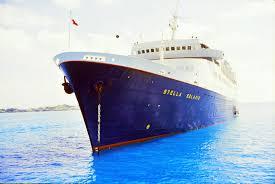 Cruise Ship Sinking Santorini by Stella Solaris 1985 2003