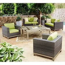 Sams Club Patio Set With Fire Pit by Member U0027s Mark Grand Cayman Sunbrella Seating Set Outdoor