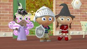 Twas The Night Before Halloween Book by Super Why Netflix