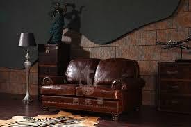 amerikanischen antiken vintage stil zwei sitze braun farbe leder sofa wohnzimmer möbel leder sofa a109 buy ledersofa vintage industriellen