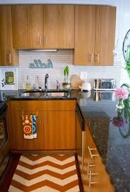 Kitchen Beautiful Concept Of Small Apartment Kitchens Decoration Ideas With Wooden Cabinet Also Stainless Steel
