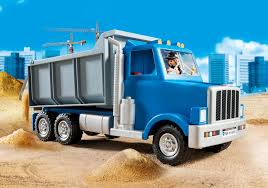 Dump Truck - 5665 - PLAYMOBIL® USA