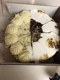 My birthday cake Cheesecake Factory Half carrot cake cheese