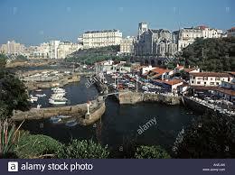 port des pecheurs biarritz port des pecheurs at biarritz stock photo royalty free image