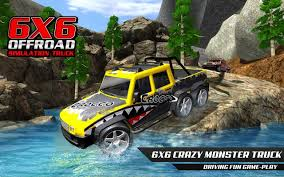 100 Juegos De Monster Truck De 6x6 Spin Offroad Mud Runner Drive For Android APK