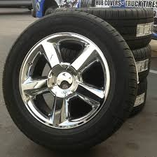 100 Chevy Truck Center Caps CHEVROLET TAHOE SILVERADO 20 CHROME WHEELS TIRES Quick Deals