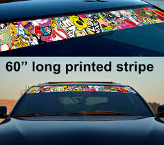 Buy Band Aid Cool JDM Sticker Bomb Body Royal Windshield Stance ...