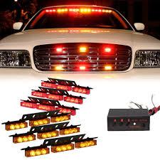 CYAN SOIL BAY 6 X 9 LED Emergency Warning Car Truck Auto Boat Bar ...