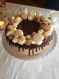 nutella torte mit gerösteten nüssen und buttercreme glück