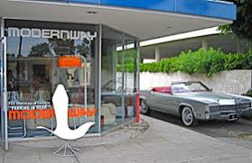 vintage palm springs midcentury modern shopping