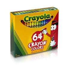 Crayola Bathtub Crayons Refill by Crayola Crayons 64 Pack With Built In Sharpener Toys