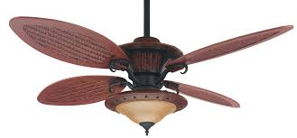 Ceiling Fan With Palm Leaf Blades by Ceiling Fans With Lights Large Tropical Fan Light 5 Maple Leaves