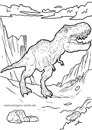 Coloriage Tyrannosaure Coloriage Tyrannosaurus Rex Coloring Ideas