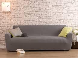 housse canape 2 place housse de canapé 2 places bi extensible gris