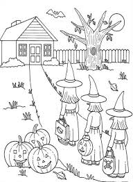 Halloween Coloring Pages Kids Printable