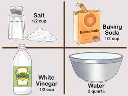 Bathtub Drain Clog Baking Soda Vinegar by 3 Ways To Avoid Kitchen Sink Blockages Wikihow
