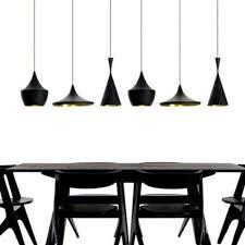 ouku anhänger 3 licht industrie schwarz eisen aluminium